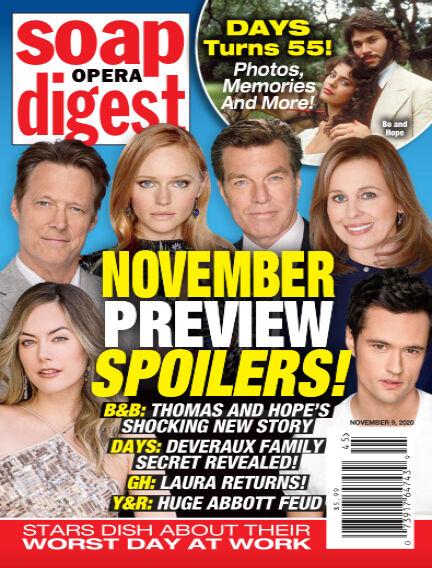 Soap Opera Digest October 31, 2020 00:00