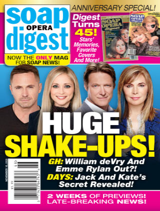 Soap Opera Digest November 16, 2020