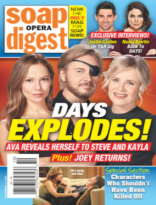 Soap Opera Digest December 14, 2020