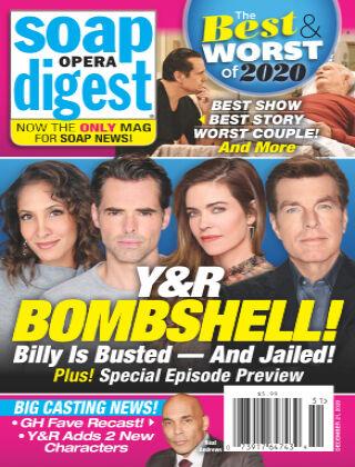 Soap Opera Digest December 21, 2020