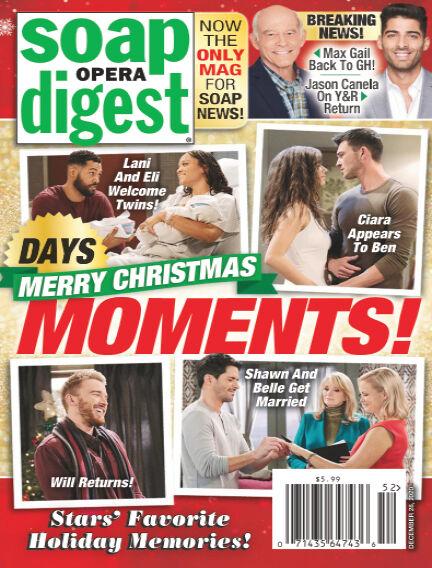 Soap Opera Digest December 20, 2020 00:00