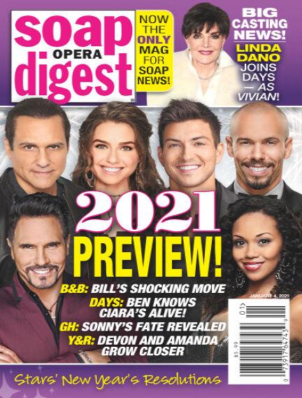 Soap Opera Digest December 25, 2020 00:00