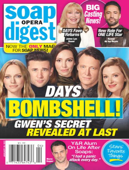 Soap Opera Digest January 15, 2021 05:00