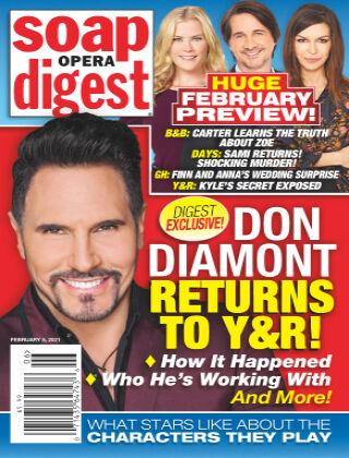 Soap Opera Digest 8th February 2021