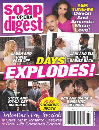 Soap Opera Digest February 15th, 2020
