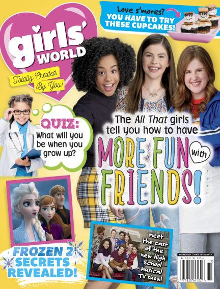 Girl's World October 04, 2019 00:00