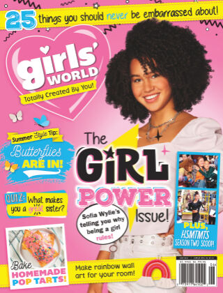 Girl's World June-21