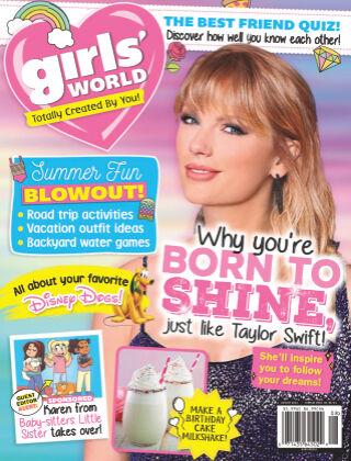 Girl's World August-21