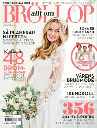 Allt om Bröllop 2017-02-07