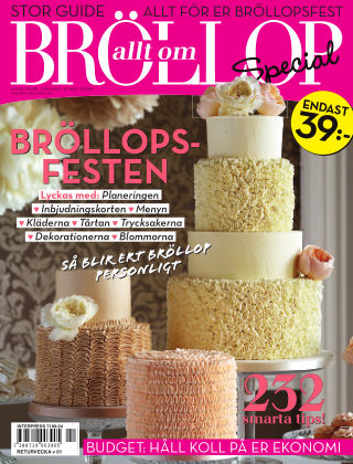 Allt om Bröllop Special 2014-10-28