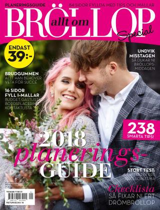 Allt om Bröllop Special 2018-01-30