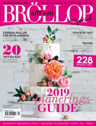 Allt om Bröllop Special 2019-01-31