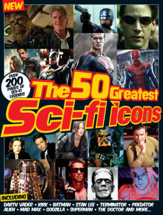 50 Greatest Sci-Fi Icons Of All Time 2nd Edition