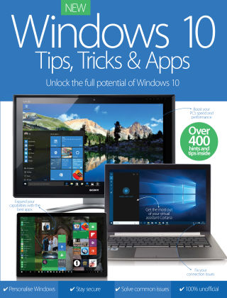 Windows 10 Tips, Tricks & Apps Vol 1 Revised Ed