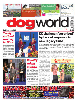 Dog World 31st October 2014