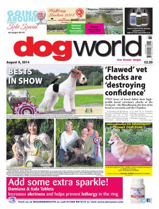 Dog World 8th August 2014