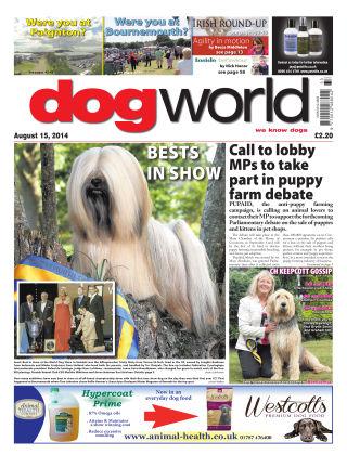 Dog World 15th August 2014