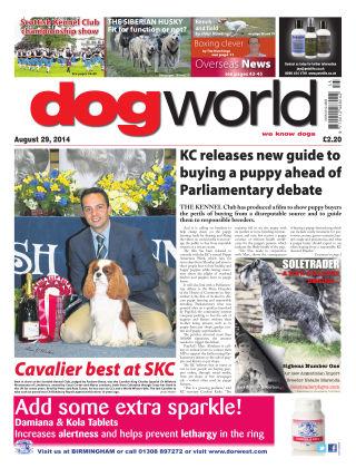 Dog World 29th August 2014