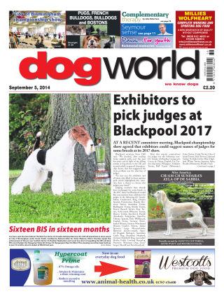 Dog World 5th September 2014