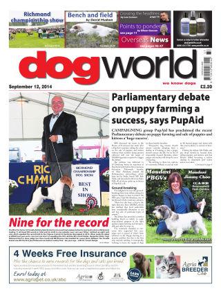 Dog World 12th September 2014