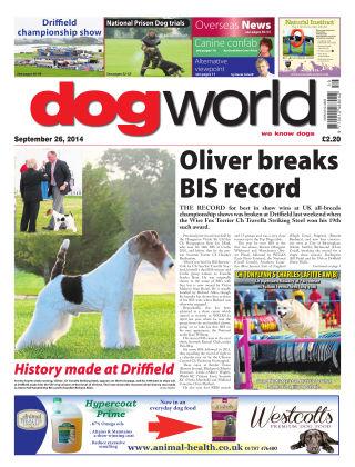 Dog World 26th September 2014