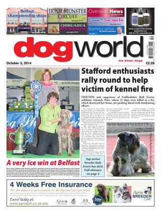 Dog World 3rd October 2014