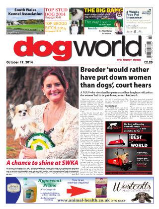 Dog World 17th October 2014