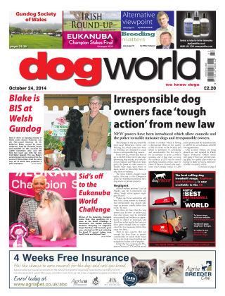 Dog World 24th October 2014