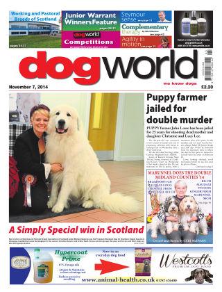 Dog World 7th November 2014