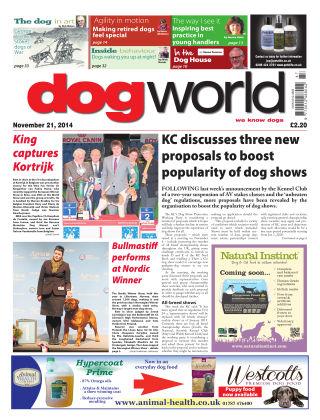 Dog World 21st November 2014