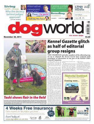 Dog World 28th November 2014