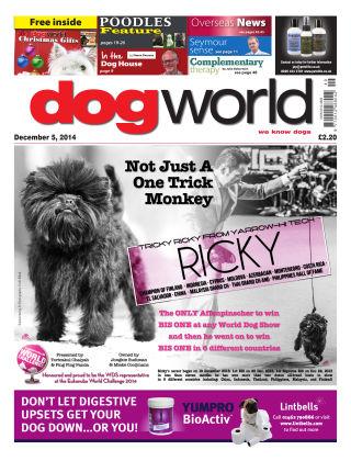 Dog World 5th December 2014