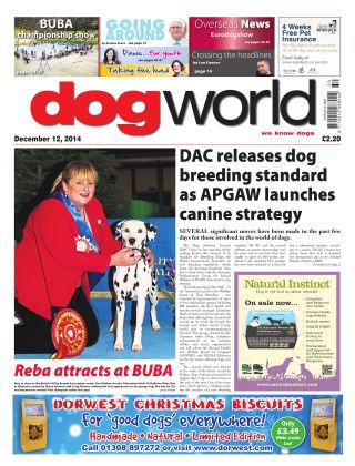 Dog World 12th December 2014