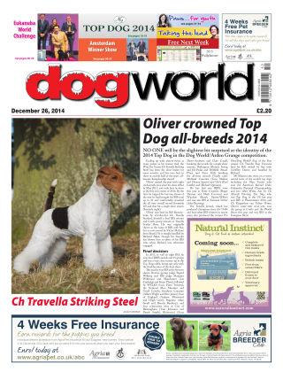 Dog World 26th December 2014