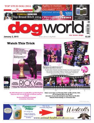 Dog World 2nd January 2015