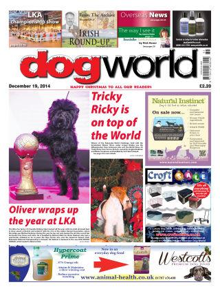 Dog World 19th December 2014