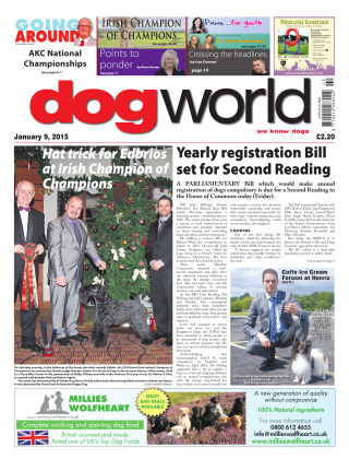 Dog World 9th January 2015