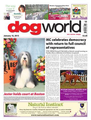 Dog World 16th January 2015