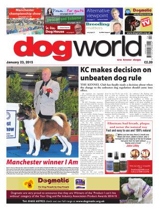 Dog World 23rd January 2015