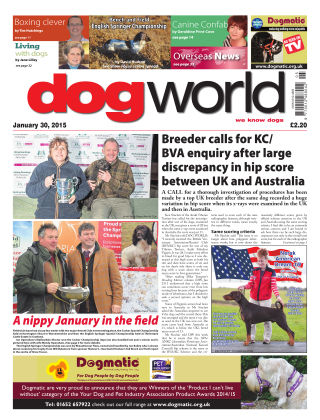 Dog World 30th January 2015