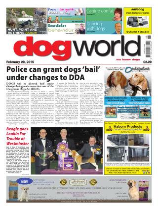Dog World 20th February 2015