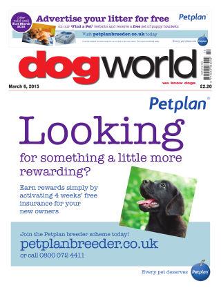 Dog World 6th March 2015