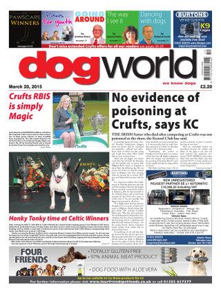 Dog World 20th March 2015