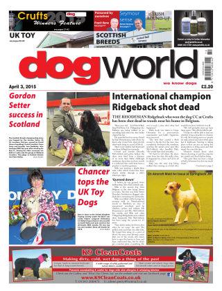 Dog World 3rd April 2015
