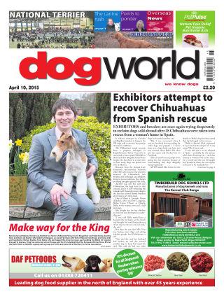 Dog World 10th April 2015