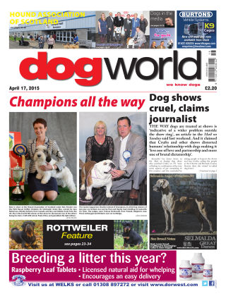 Dog World 17th April 2015