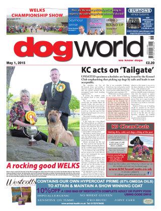 Dog World 1st May 2015