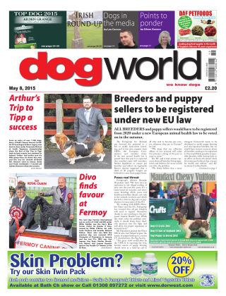 Dog World 8th May 2015