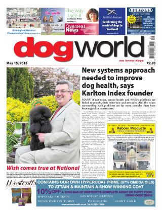 Dog World 15th May 2015