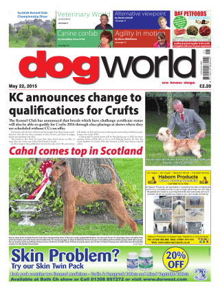 Dog World 22nd May 2015